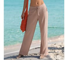 Kreponové nohavice | blancheporte.sk #blancheporte #blancheporteSK #blancheporte_sk #novákolekcia #jar #leto Thing 1, Khaki Pants, Suits, Zip, Spring, Fashion, Tunic, Moda, Khakis