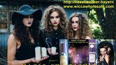 Hexenzauber Anleitung für Kerzenzauber