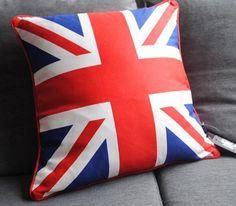 Подушка Британский флаг купить декоративные подушки магазин подарков