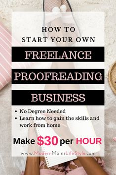 Are you looking for a way to make some extra money from the comfort of your own home? Are you very detailed and love reading, blog posts, books, eBooks or articles? Did you know that you can get paid to read and correct authors punctuations? Right from the comfort of your own home! Learn How to be a Proofreader without any degree and start earning extra money or even a full-time income. Have you always dreamed of having a flexible schedule and didn't know how to get started? Then this is for…