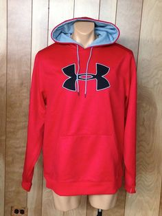 MEN'S UNDER ARMOUR HOODED SWEATSHIRT-SIZE: XL #UNDERARMOUR #Hoodie