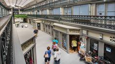 O shopping center mais antigo da América agora abriga 48 encantadores micro-apartamentos de baixo custo - Stylo Urbano