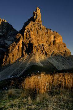 Cimon Della Pala - Dolomites, Italy, province of South Tyrol, Trentino-Alto Adige #Dolomiti #Dolomites #Dolomiten #Dolomitas #DolomitiUNESCO #Madeinitaly