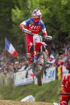 Gautier Paulin in France Honda, Racing, France, Motorbikes, Sports, Running, Auto Racing, French