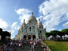 Igrejas em Paris: Basílica de Sacré Cœur (Foto: Esse Mundo é Nosso)
