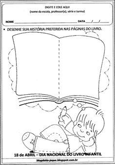 Blog da Tia Jaque: Dia do Livro Infantil