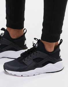 best website 36a5c 19d34 Nike Air Huarache Run Ultra Sneakers In Black 819685-001