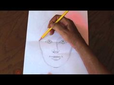 How To Draw a Quick, Simple, and Easy Self-Portrait - YouTube