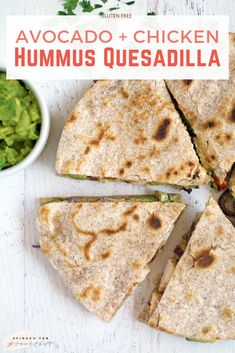 Vegan Quesadilla, Healthy Quesadilla Recipes, Lunch Recipes, Healthy Recipes, Gluten Free Recipes For Lunch, Easy Clean Eating Recipes, Healthy Food, Clean Eating Lunches, Gluten Dairy Free