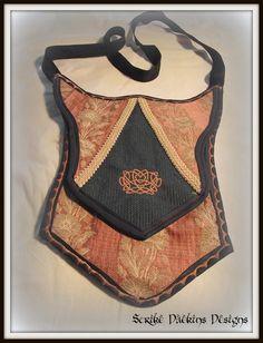 Medieval Banner Purse  Feminine Elegance by StrikeDaekinsDesigns, $45.00