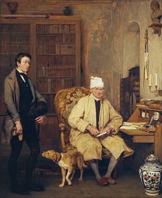 The Letter of Introduction - Sir David Wilkie (godfather of Wilkie Collins)