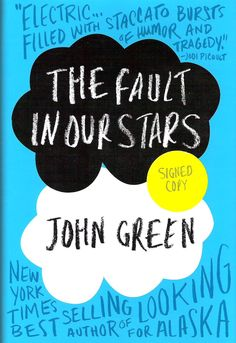 The Fault In Our Stars - John Green: One of the most poignant and demanding novels I've read in a long time. Absolutely beautiful.