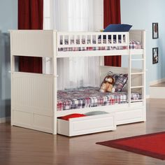 Nantucket Twin over Twin Bunk Bed by Atlantic Furniture