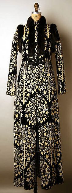 Evening coat  Thea Porter    Date: ca. 1969   Culture: British