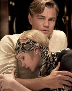 Leonardo Dicaprio in The Great Gatsby with co-star Carey Mulligan