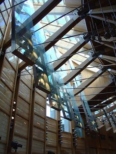 New Scottish Parliament Foto©: EMBT Arquitectes Associats