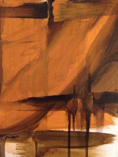 """""""From the Ground Up"""" acrylic on canvas (9""""x12"""") from The Beginner's Mind Series, 2015 www.justgeorgia.ca Original Art For Sale, From The Ground Up, Antelope Canyon, Canvas, Nature, Painting, Tela, Painting Art, Canvases"""
