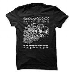 Terror Spider Skull T Shirts, Hoodies. Get it here ==► https://www.sunfrog.com/LifeStyle/Terror-Spider-Skull.html?41382 $23