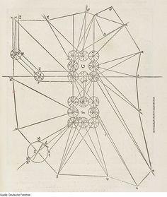 Original image description from the Deutsche Fotothek  Architektur & Geometrie & Vermessung  AuthorWalther Hermann Ryff  ArtistPetrejus, Johann (Drucker)  Date1547