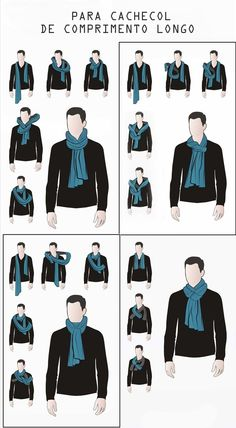 47 Ideas clothes mens fashion scarfs for 2019 Mens Scarf Fashion, Mens Fashion Suits, Men Scarf, Ways To Wear A Scarf, How To Wear Scarves, Mens Style Guide, Men Style Tips, Perfect Outfit, Stylish Men