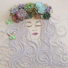 Les dessins avec des fleurs de Sister Golden - http://www.dessein-de-dessin.com/les-dessins-avec-des-fleurs-de-sister-golden/