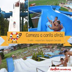 ¿Preparados para una nueva temporada de diversión en el Aquapark Cerceda? Este jueves os desvelaremos la sorpresa que estamos preparando, estad muy atentos!! #vuelveAquapark