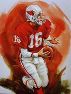 Jake Plummer, Arizona Cardinals by Armando Delgado