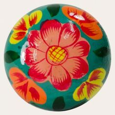 Personalise and accessorise your cupboard doors or dresser drawers with these gorgeous knobs. With an eye catching hand-painted floral design, they'll add a dash of colour and unique character.