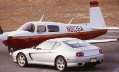 Fear of Flying: Ferrari 456GT vs. Mooney MSE (an Airplane!), The Sequel