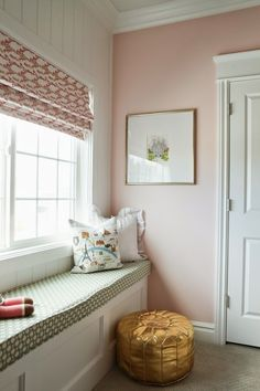 6th Street Design School: Pink and Gold Nursery Reveal wall paint Angelic by Sherwin Williams
