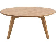 Machen Sie Ihr Wohnzimmer mit dem runden Couchtisch Dweller aus Eichenholz zur Wohlfühloase. Entdecken Sie weitere tolle Möbel von JAN KURTZ auf >> WestwingNow.