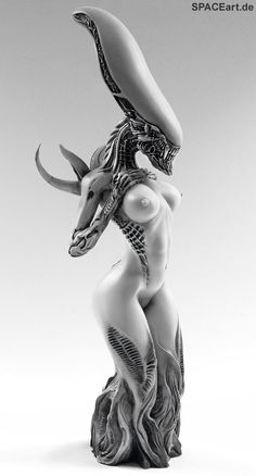 Gothic Desire: Alien Mother - Statue, Statue ... http://spaceart.de/produkte/spa025.php