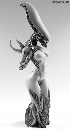 Gothic Desire: Alien Mother - Statue, Statue ... http://spaceart.de/produkte/spa025.php