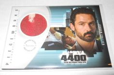 The 4400 Season 2 Costume Trading Card #PW-2 Billy Campbell Ver.3 Full Blood