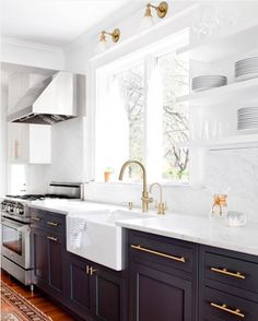 GET THE LOOK: TWO-TONED KITCHENS Right now we are seeing the trend of two-toned kitchens and we are loving it! We are sharing our favorite colors to achieve this look.