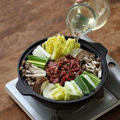 Gourmet Recipes, Low Carb Recipes, Healthy Recipes, Gluten Free Korean Food, Bibimbap Recipe, Food Menu Design, Tapenade, Fat Burning Foods, Diet And Nutrition