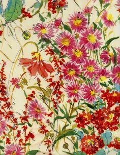 Love love love Lourdes Sanchez gifted cuban watercolor artist /printed textile designer