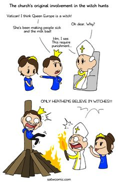 Can't really see the new pope whipping out the torches and pitchforks (satwcomic.com)