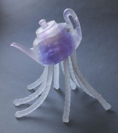 Christina Bothwell & Robert Bender Seapot, 2015 Cast glass 15 x 10 x 15 inches Available