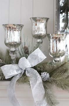 Melrose Gifts Mercury Glass Candle Holder | Nordstrom $18 $22 $26