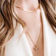 """So Pretty Cara Cotter TM on Instagram: """"✨Back In Stock✨Our Chai Moonstone Unity Crown necklace just landed! You've been waiting for this one for awhile and we couldn't be happier…"""""""