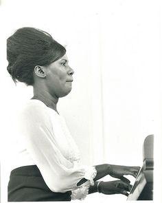 John Coltrane's wife, Alice.