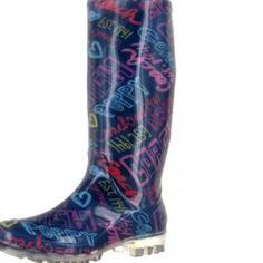 Poppy by Coach rain boots! Omgomgomg.