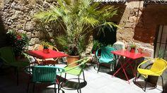 PATIO TERRAZA   Pensión Hostal en Salamanca ::: Alojamiento barato, práctico y original SWEET HOME SALAMANCA http://alojamientosweethomesalamanca.com