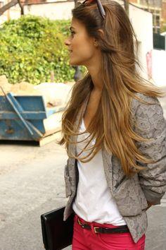 Lace jacket. Via Seams for a Desire