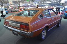 Mitsubishi Lancer Celeste (Plymouth Arrow GT in US; Chrysler Lancer in Australia). Mitsubishi Colt, Mitsubishi Motors, Plymouth Arrow, Geneva Motor Show, Japan Cars, Classic Cars, Beards, Muscle Cars, Dodge