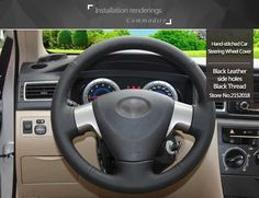 Shining wheat Hand-stitched Black Leather Steering Wheel Cover for Toyota Corolla 2006-2010 Toyota Corolla EXUSD 21.53/pieceShining wheat Hand-stitched Black Leather Steering Wheel Cover for Toyota Corolla RAV4 2011 2012 Car SpecialUSD 21.53/pieceShining wheat Hand-stitched Black Leather Steering Wheel Cover for Toyota Yaris Vios RAV4 2006-2009USD 21.
