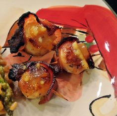 scallops with key west sauce