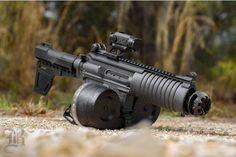 Post on gun-porn Airsoft Sniper, Airsoft Guns, Weapons Guns, Guns And Ammo, Arsenal, Rifles, Ar Pistol, Submachine Gun, Concept Weapons