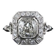 Cushion Cut Engagement Rings Antique 35